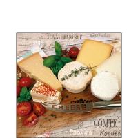 Tovaglioli 25x25 cm - Palette of Cheeses
