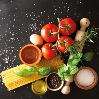 Napkins 25x25 cm - Italian Food