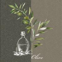 Servilletas 25x25 cm - Oil And Olives