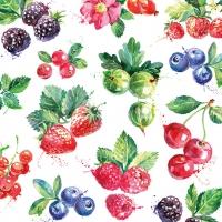 Serwetki 33x33 cm - Mixed Fruit