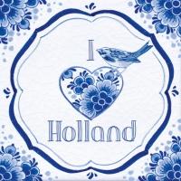 Napkins 33x33 cm - Holland Tile