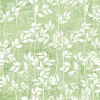 Servilletas 33x33 cm - Leaves Pattern Light Green