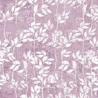 Napkins 33x33 cm - Leaves Pattern Lilac