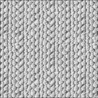 Napkins 33x33 cm - Knitted Wool