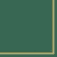 Napkins 33x33 cm - Lea Green