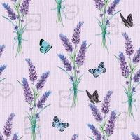 Serviettes 33x33 cm - Lavender With Love Lilac