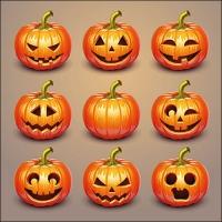 Servilletas 33x33 cm - Halloween Pumpkins