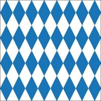 Servilletas 33x33 cm - Bavarian Check
