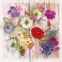Napkins 33x33 cm - Summer Flowers