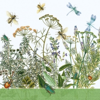 Napkins 33x33 cm - Field Flowers