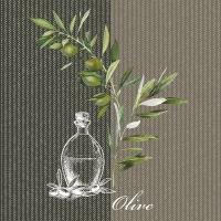 Napkins 33x33 cm - Oil And Olives