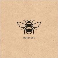 Napkins 33x33 cm - Recycled Honey Bee