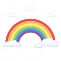 Servilletas 33x33 cm - Rainbow