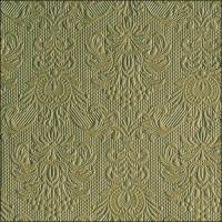 Serwetki 33x33 cm - Elegance Green Leaf