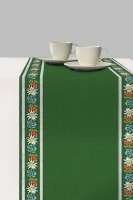 Tablerunners -  Bavarian Flowers Green