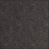 Napkins 40x40 cm - Napkin 40 Elegance Dark Grey
