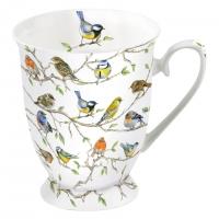 Tazza di porcellana - Birds Meeting