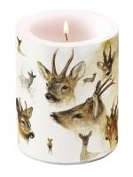 decorative candle - Portraits Of Deer