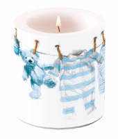 Decorative candle small - Baby Boy Clothes