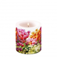 Decorative candle small - Tulips