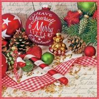 Napkins 25x25 cm - Merry Little Christmas