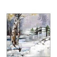 Serviettes 25x25 cm - Its Wintertime
