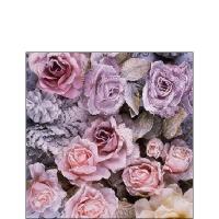 Servilletas 25x25 cm - Winter Roses