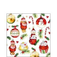 Serwetki 25x25 cm - Hanging Ornaments