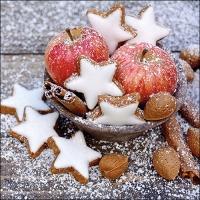 Serwetki 33x33 cm - Apples & Cookies