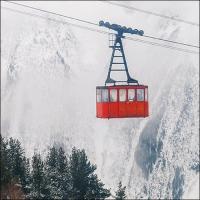 Servilletas 33x33 cm - Ski Gondola