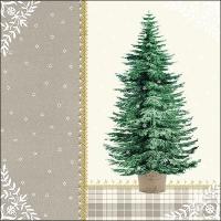 Servilletas 33x33 cm - Little Tree Cream