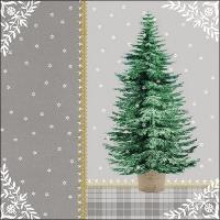 Servilletas 33x33 cm - Little Tree Grey