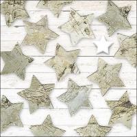 Napkins 33x33 cm - Birch Stars