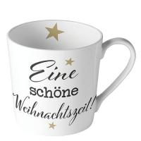 Porcelain Cup - Weihnachtszeit