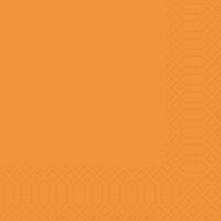 Cellulose napkins 33x33 cm - orange