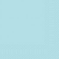 Cellulose napkins 33x33 cm - mint blue