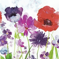 Serviettes 25x25 cm - Meadow of Flowers