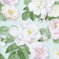 Servilletas 25x25 cm - La Rosa mint