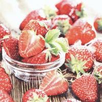 Serviettes 33x33 cm - Tasty Strawberries