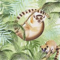 Servilletas 33x33 cm - Lemurs