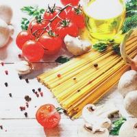 Serwetki 33x33 cm - Spaghetti