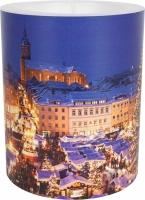 vela decorativa - Annaberg Christmas Flair 99 mm