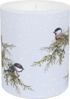 vela decorativa - Birds on Branches