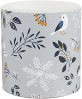vela decorativa - Birds and Twigs 75 mm