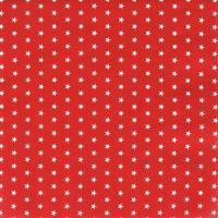 Napkins 25x25 cm - Mini Stars red