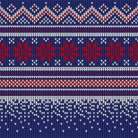 Servilletas 25x25 cm - Knitted dark blue