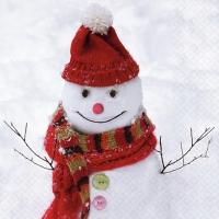 Servilletas 33x33 cm - Simon Snowman
