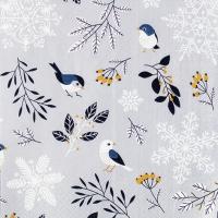 Napkins 33x33 cm - Birds and Twigs