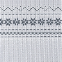 Napkins 33x33 cm - Knitted nordic