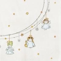 Napkins 33x33 cm - Little Angels